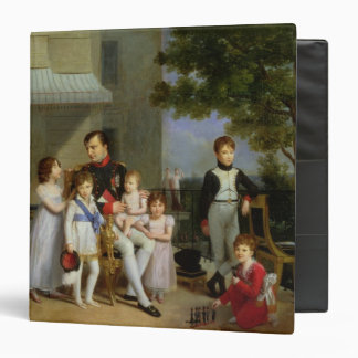 Portrait of Napoleon Bonaparte  with his Nephews Binder