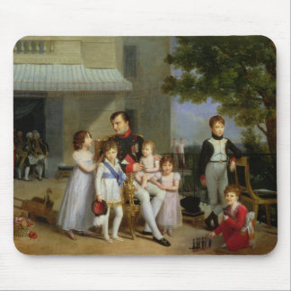 Portrait of Napoleon Bonaparte  with his Nephews Mouse Pad