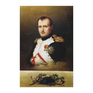 Portrait of Napoleon I  1812 Canvas Print