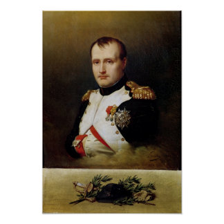 Portrait of Napoleon I  1812 Poster
