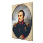 Portrait of Napoleon I , 1815 Canvas Print