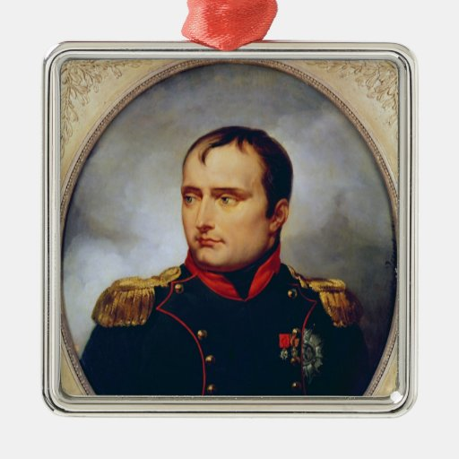 Portrait of Napoleon I , 1815 Christmas Tree Ornaments