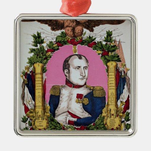 Portrait of Napoleon I  in  Battle of Christmas Ornament