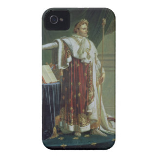 Portrait of Napoleon I in his Coronation Robes, 18 iPhone 4 Case-Mate Cases