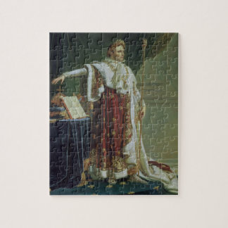 Portrait of Napoleon I in his Coronation Robes, 18 Jigsaw Puzzle