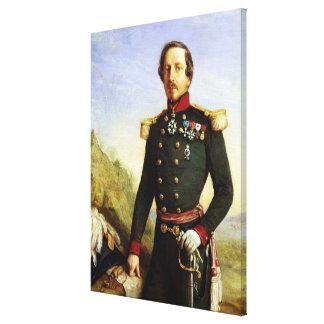 Portrait of Napoleon III  1852 Canvas Print