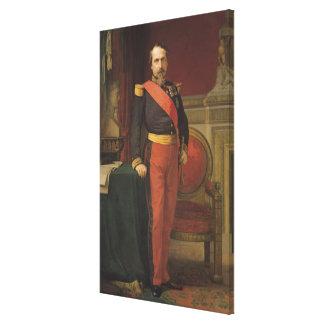 Portrait of Napoleon III  1862 Canvas Print