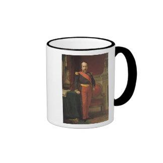 Portrait of Napoleon III  1862 Ringer Mug