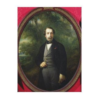 Portrait of Napoleon III  c.1857 Canvas Print