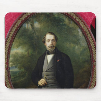 Portrait of Napoleon III  c.1857 Mouse Pad