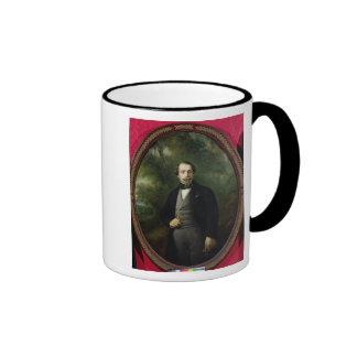 Portrait of Napoleon III  c.1857 Ringer Coffee Mug