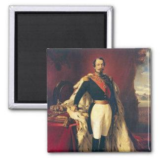 Portrait of Napoleon III  Emperor of France Magnet