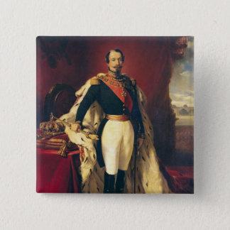 Portrait of Napoleon III  Emperor of France Pinback Button