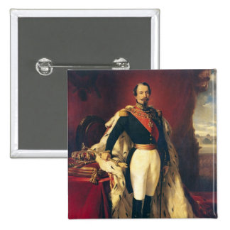 Portrait of Napoleon III  Emperor of France Pinback Button