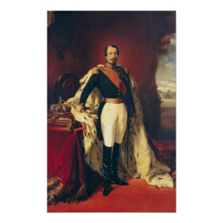 Portrait of Napoleon III  Emperor of France Posters