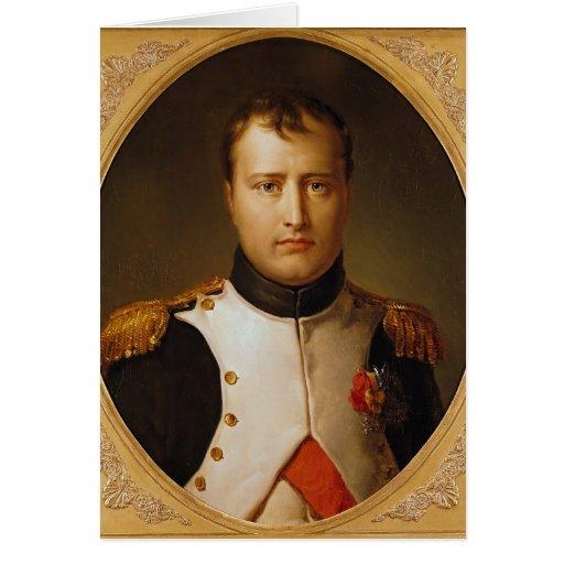 Portrait of Napoleon  in Uniform Cards