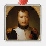 Portrait of Napoleon  in Uniform Christmas Tree Ornament
