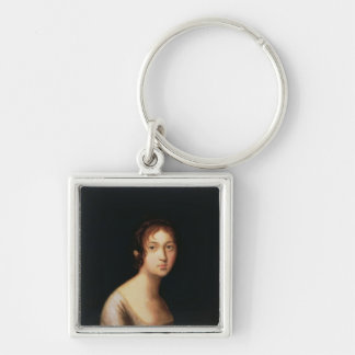 Portrait of Natalia Goncharova, 1820s Keychains