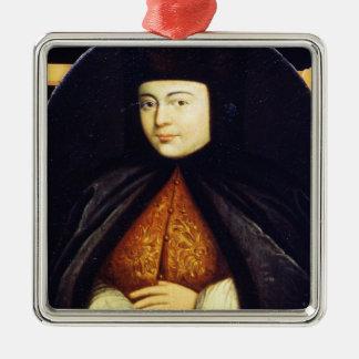 Portrait of Natalia Kirillovna Naryshkina Ornament