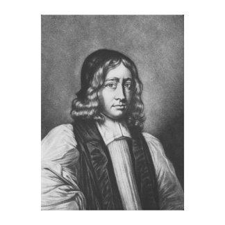 Portrait of Nathaniel Crew, Bishop of Durham Canvas Print