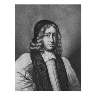 Portrait of Nathaniel Crew, Bishop of Durham Postcard