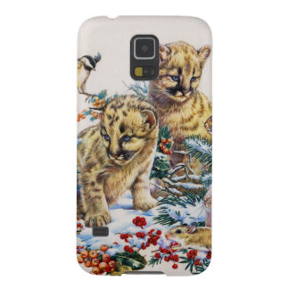 Portrait of Nature's Young Wildlife Galaxy S5 Cases