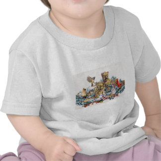 Portrait of Nature's Young Wildlife T Shirts