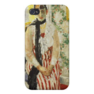 Portrait of Nel Wouters 1912 iPhone 4 Cover