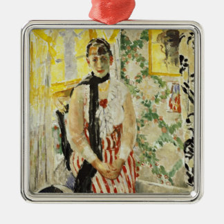 Portrait of Nel Wouters  1912 Metal Ornament