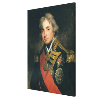Portrait of Nelson Canvas Print