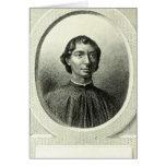 Portrait of Niccolo Machiavelli Card