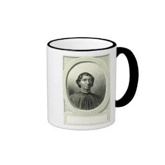 Portrait of Niccolo Machiavelli Ringer Coffee Mug