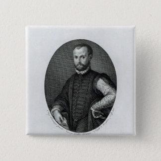 Portrait of Niccolo Machiavelli Pinback Button