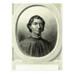 Portrait of Niccolo Machiavelli Postcard