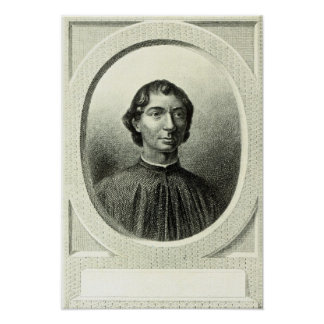 Portrait of Niccolo Machiavelli Poster