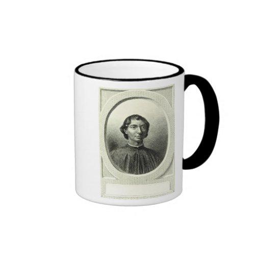 Portrait of Niccolo Machiavelli Ringer Mug
