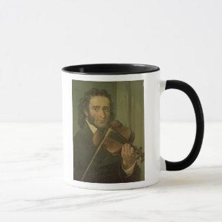 Portrait of Niccolo Paganini Mug