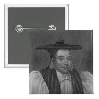 Portrait of Nicholas Monck 2 Inch Square Button