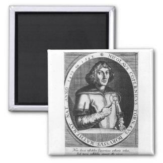 Portrait of Nicolas Copernicus Fridge Magnets