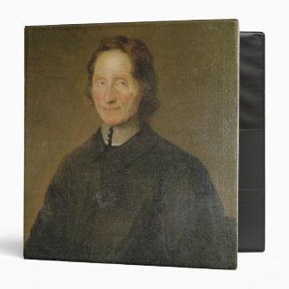 Portrait of Nicolas de Malebranche 3 Ring Binder