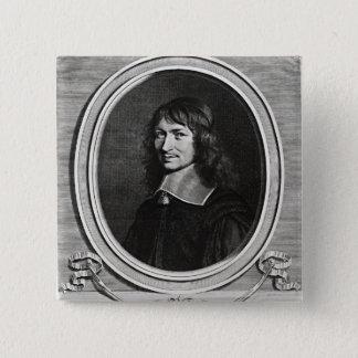 Portrait of Nicolas Fouquet  1662 Button