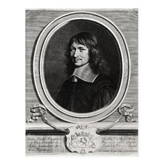 Portrait of Nicolas Fouquet  1662 Postcards