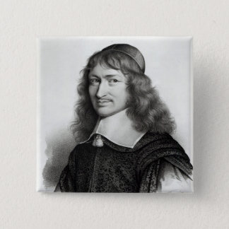 Portrait of Nicolas Fouquet  engraved by Maurin Button