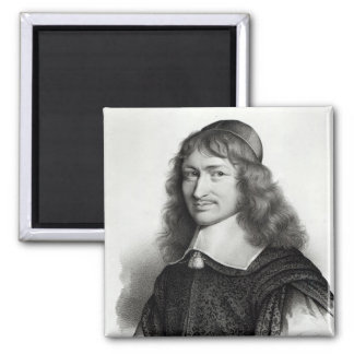 Portrait of Nicolas Fouquet  engraved by Maurin Magnet