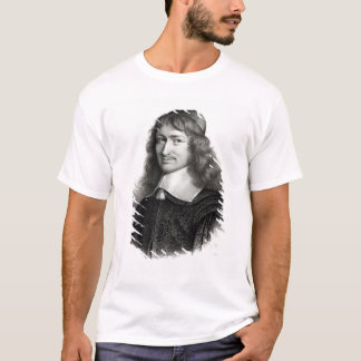 Portrait of Nicolas Fouquet  engraved by Maurin T-Shirt