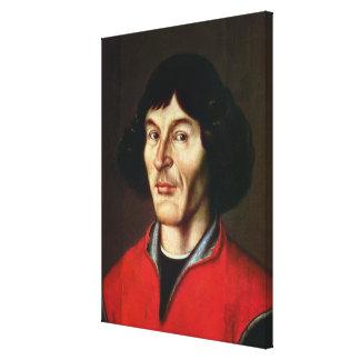 Portrait of Nicolaus Copernicus Canvas Print