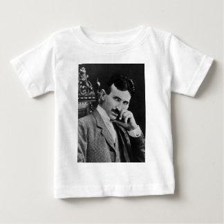 Portrait of Nikola Tesla Baby T-Shirt