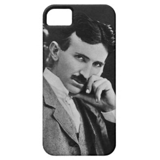 Portrait of Nikola Tesla iPhone SE/5/5s Case