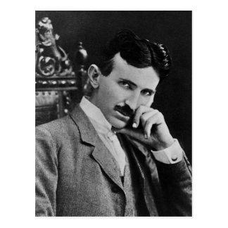 Portrait of Nikola Tesla Postcard