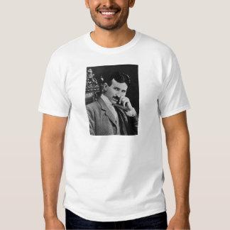 Portrait of Nikola Tesla Tee Shirt